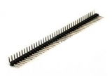 Разъем штыревой PLS40 угловой (2.54мм)