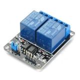 Реле модуль 2 канала 5В с опторазвязкой