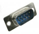 Разъем DB9 RS-232 для пайки мужской