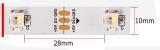 Светодиодная лента RGBW SK6812 (30шт/1м, IPЗ0)