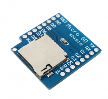 Wemos D1 mini MicroSD модуль