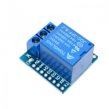 Wemos D1 mini релейный модуль