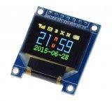 """OLED графический RGB дисплей 0.95"""" (96x64, SPI)"""