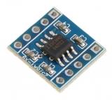Потенциометр цифровой X9C104S (100К) на плате