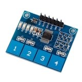Клавиатура сенсорная 4кн. (TTP224)